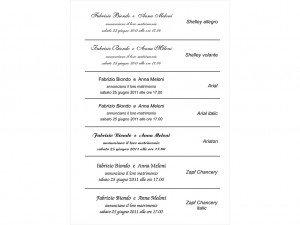 Fontovi i izbor tekstova za pozivnice 8