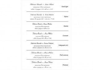 Fontovi i izbor tekstova za pozivnice 11